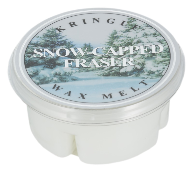 Kringle Candle Snow Capped Fraser cera para lámparas aromáticas 35 g