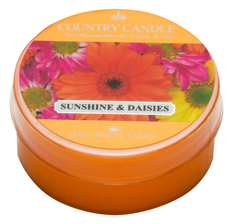 Country Candle Sunshine & Daisies vela de té 42 g