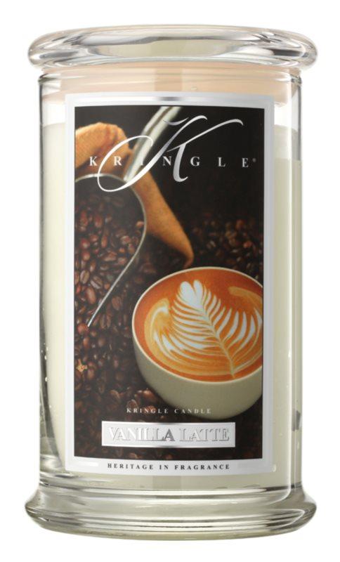 Kringle Candle Vanilla Latte dišeča sveča  624 g