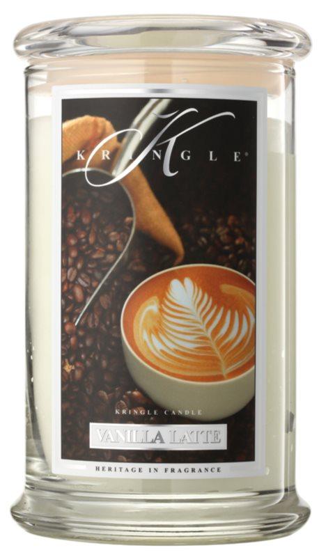 Kringle Candle Vanilla Latte vonná svíčka 624 g