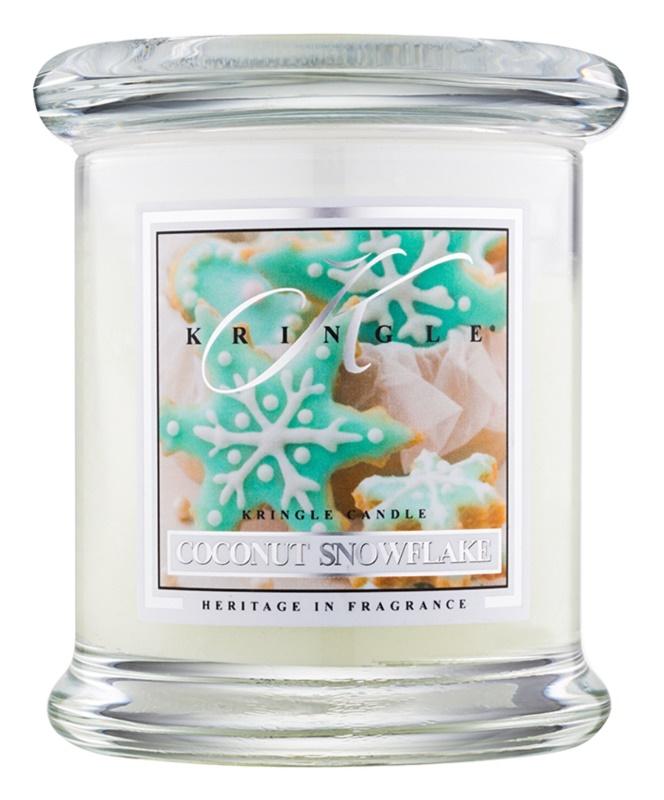 Kringle Candle Coconut Snowflake illatos gyertya  127 g