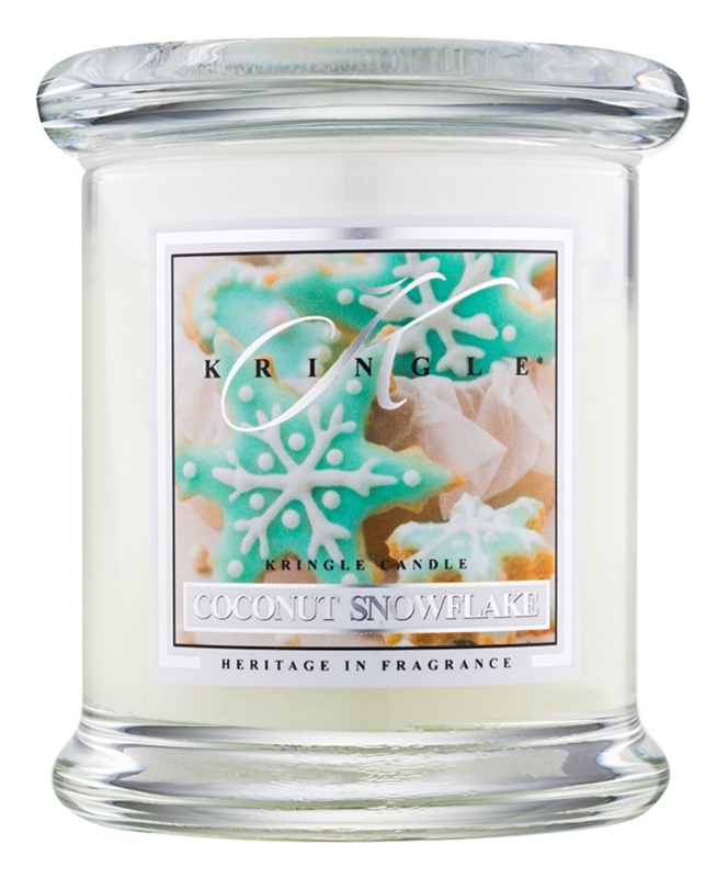 Kringle Candle Coconut Snowflake vonná svíčka 127 g