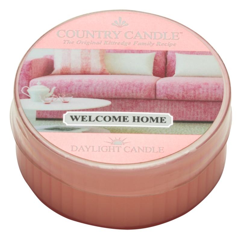 Country Candle Welcome Home vela de té 42 g