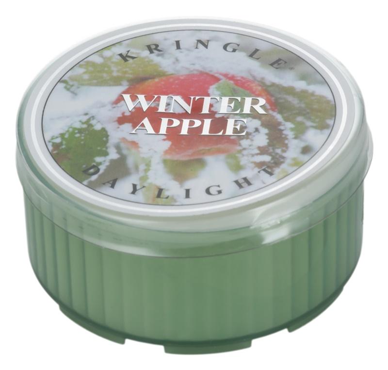 Kringle Candle Winter Apple vela do chá 35 g