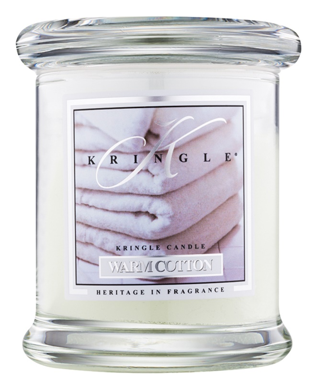 Kringle Candle Warm Cotton dišeča sveča  127 g