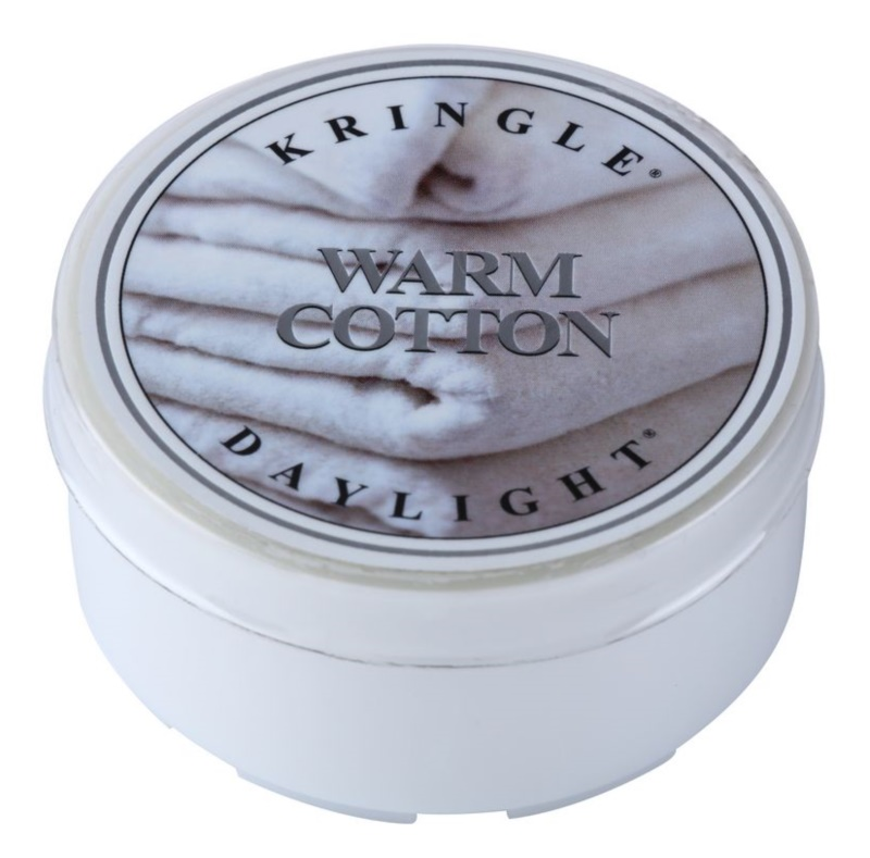 Kringle Candle Warm Cotton teamécses 35 g