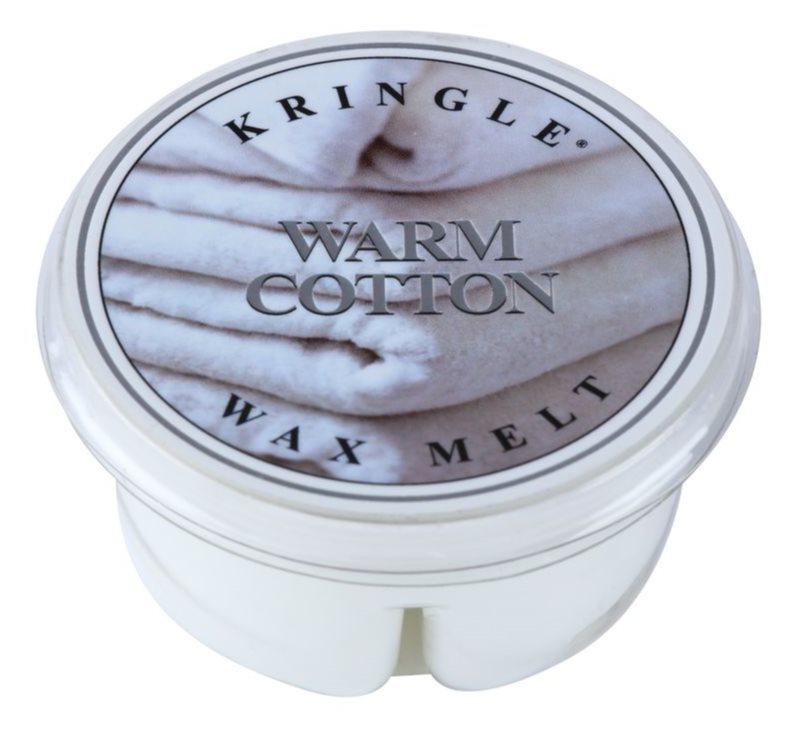 Kringle Candle Warm Cotton cera para lámparas aromáticas 35 g