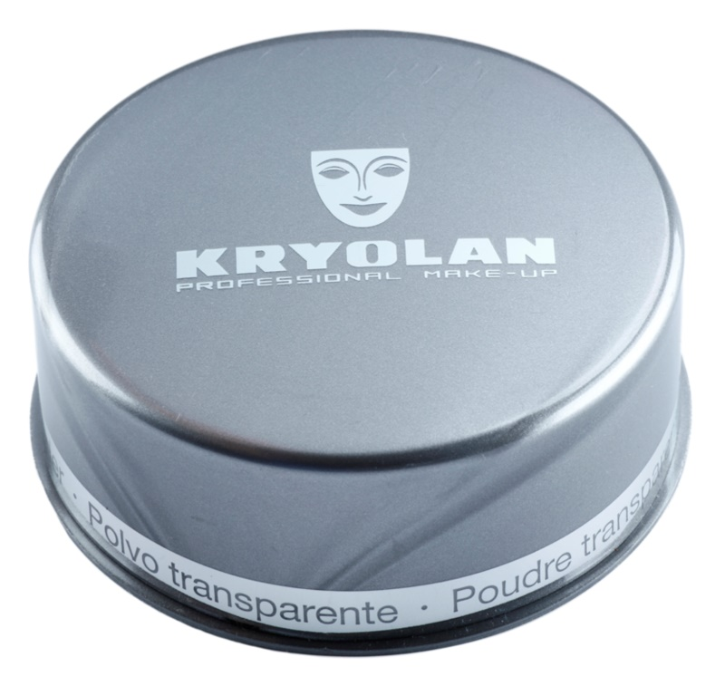 Kryolan Basic Face & Body transparentní sypký pudr