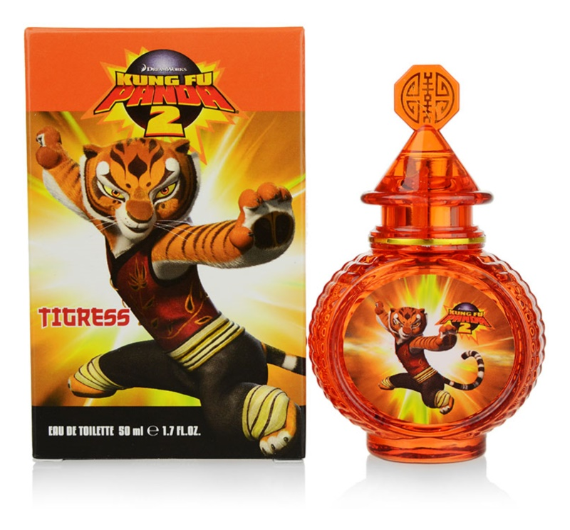 Kung Fu Panda 2 Tigress eau de toilette gyermekeknek 50 ml
