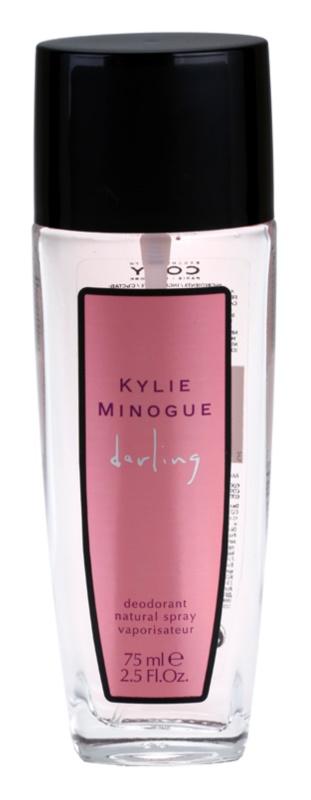 Kylie Minogue Darling déodorant avec vaporisateur pour femme 75 ml