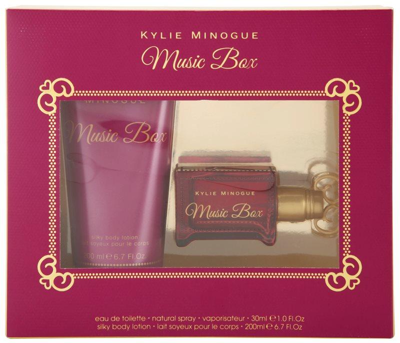 Kylie Minogue Music Box coffret cadeau I.