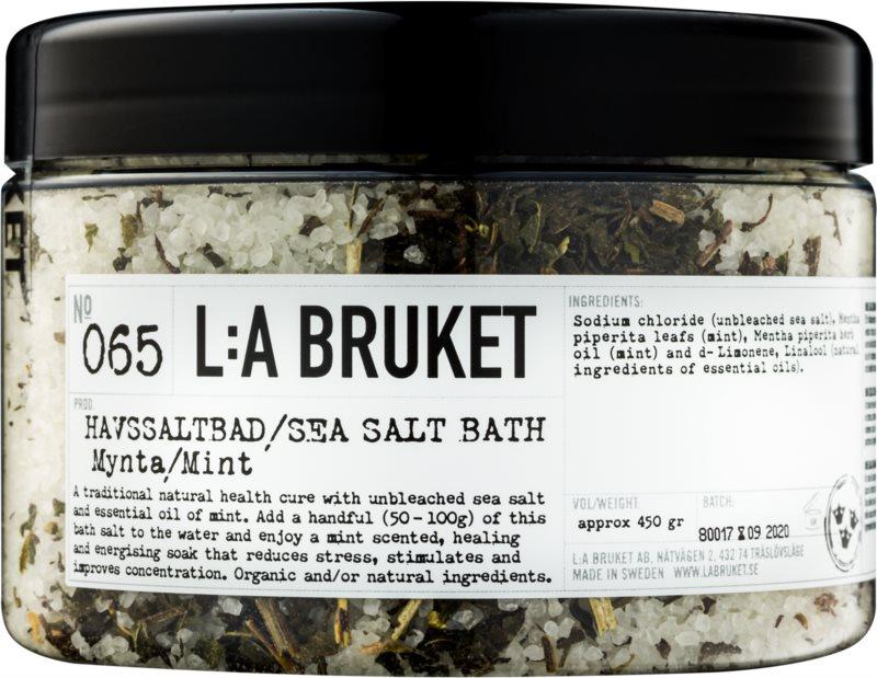 L:A Bruket Spa sol za kopel z meto