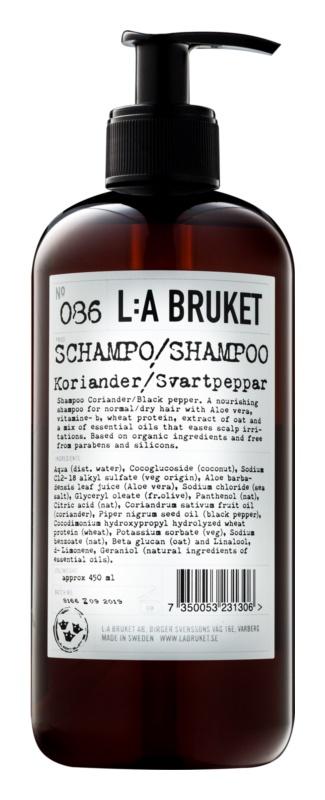 L:A Bruket Hair šampón pre normálne až suché vlasy