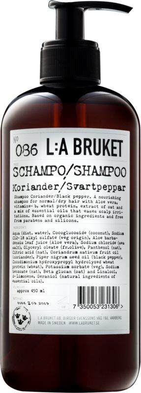 L:A Bruket Hair šampon pro normální až suché vlasy