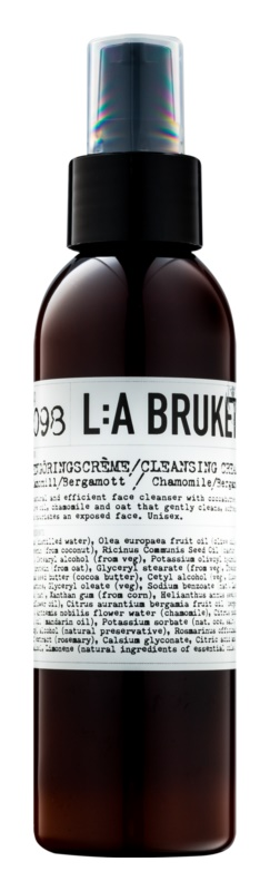 L:A Bruket Face Cleansing Face Cream with Chamomile and Bergamot