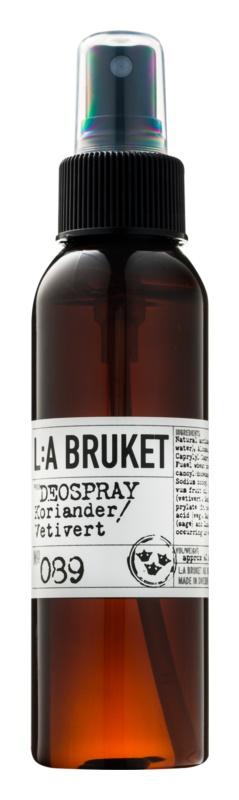 L:A Bruket Body deodorant ve spreji