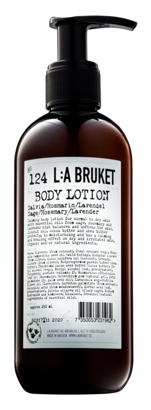 L:A Bruket Body lapte de corp cu salvie, rozmarin si lavanda