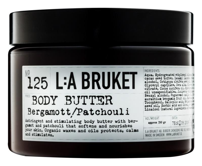 L:A Bruket Body Bergamot and Patchouli Body Butter