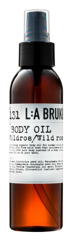 L:A Bruket Body Körperöl mit wilder Rose