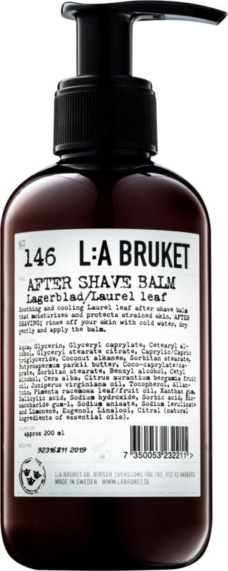 L:A Bruket Shave balsam aftershave