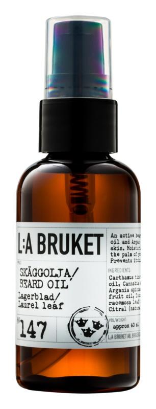 L:A Bruket Shave olej na vousy a bradu