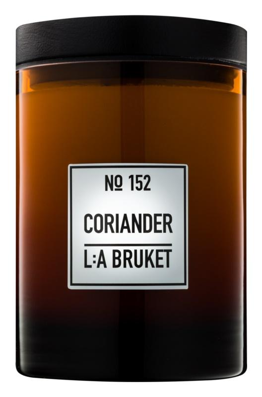 L:A Bruket Home Coriander vonná svíčka 260 g