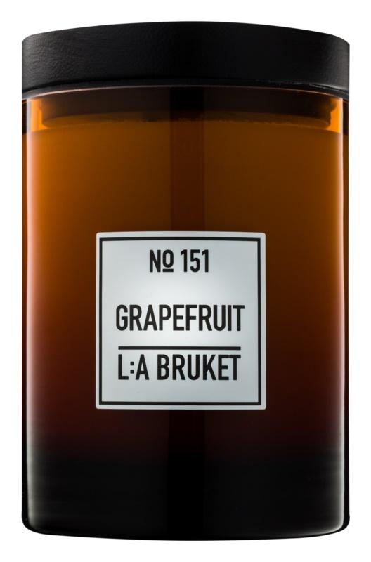 L:A Bruket Home Grapefruit vonná svíčka 260 g
