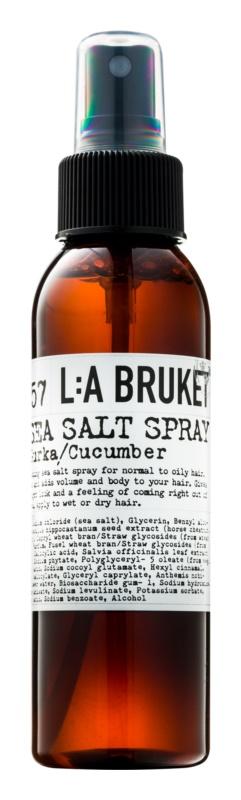 L:A Bruket Hair spray pentru par cu sare de mare