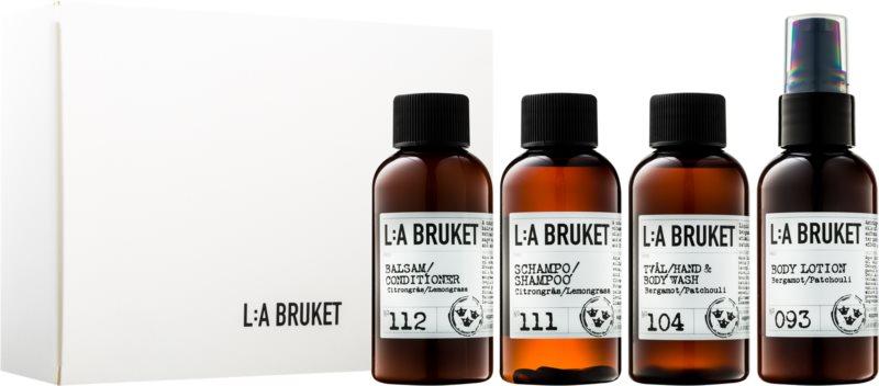 L:A Bruket Body kozmetični set I.