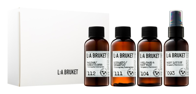 L:A Bruket Body Potovalni set I.
