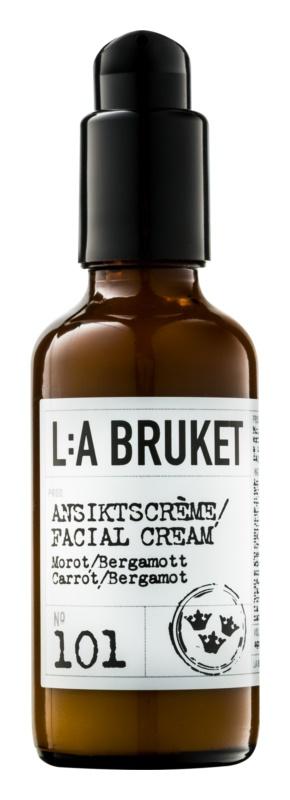 L:A Bruket Face vyživující hydratační krém s výtažkem z karotky