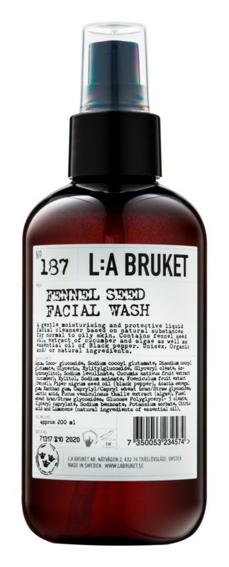 L:A Bruket Face Cleansing Emulsion with Fennel Seeds