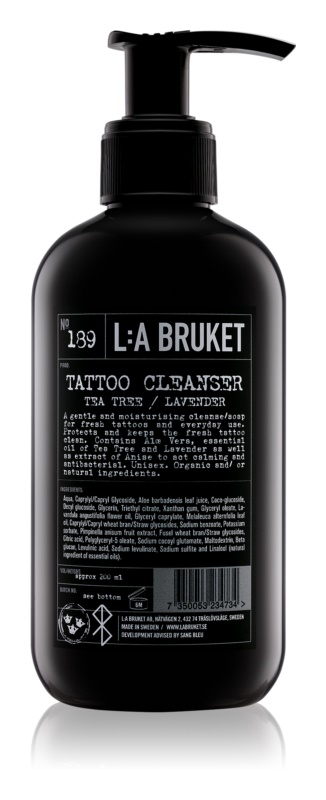 L:A Bruket Tattoo ніжний гель для миття татуювання