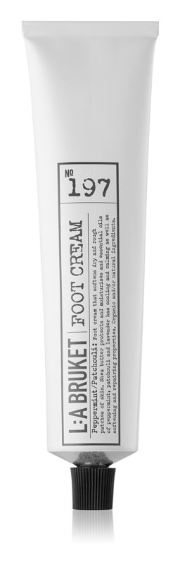 L:A Bruket Body Foot Cream with Mint and Patchouli