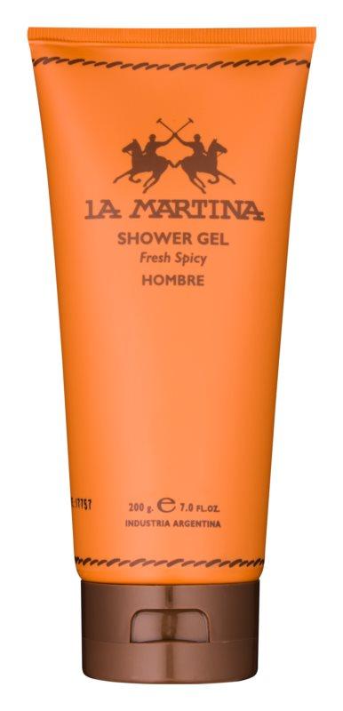 La Martina Hombre gel za prhanje za moške 200 g