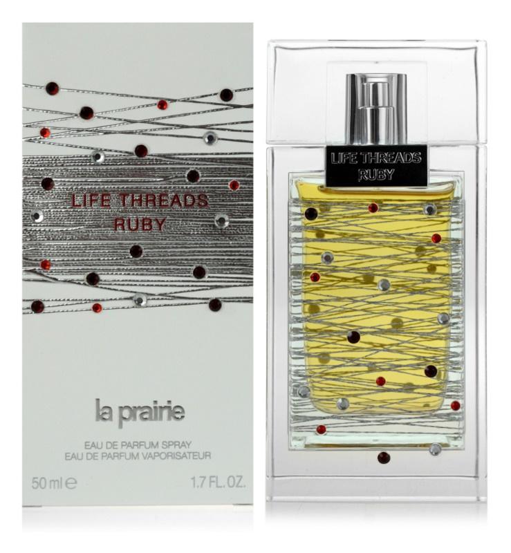 La Prairie Life Threads Ruby Eau de Parfum voor Vrouwen  50 ml