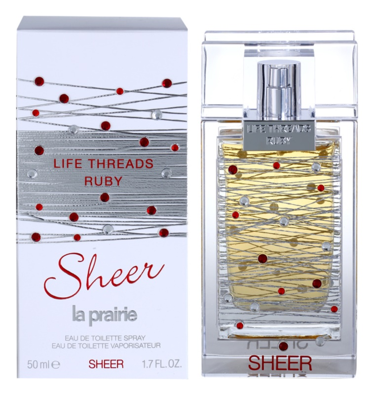 La Prairie Life Threads Sheer Ruby Eau de Toilette für Damen 50 ml