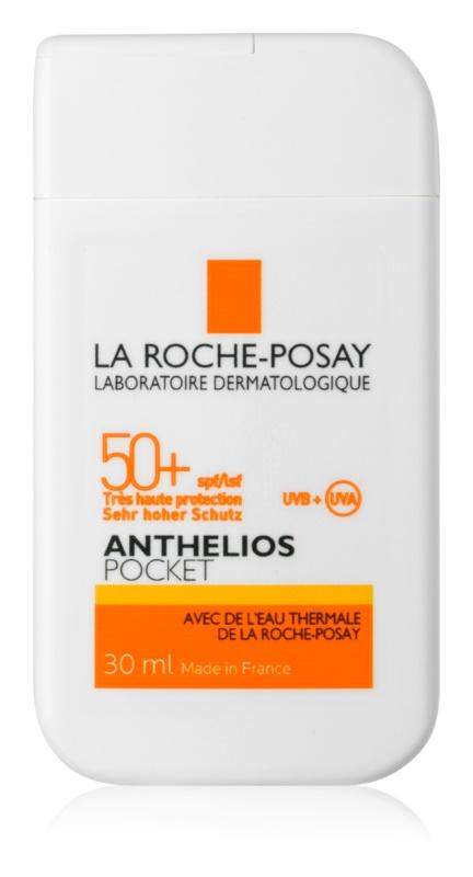La Roche-Posay Anthelios Pocket cremă protectoare pentru piele sensibilă și intolerantă SPF50+