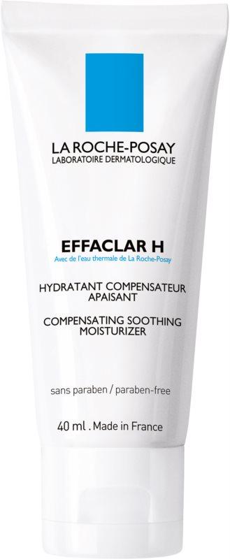 La Roche-Posay Effaclar H pomirjevalna in vlažilna krema za problematično kožo, akne