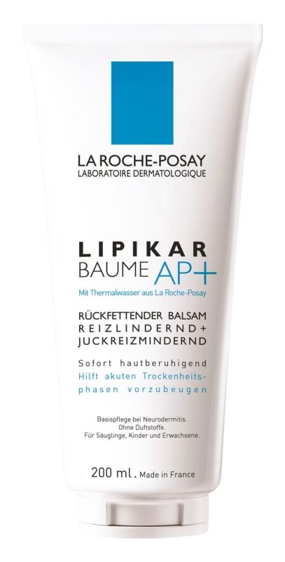 La Roche-Posay Lipikar Baume AP+ balsam uzupełniający lipidy przeciw podrażnieniom i swędzeniu skóry