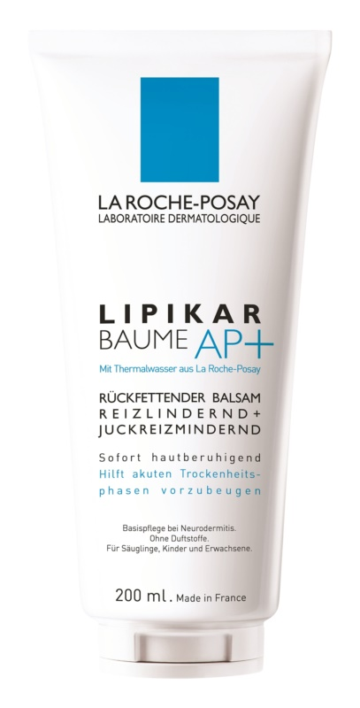 La Roche-Posay Lipikar Baume AP+ Lipid - Replenishing Balm Against Irritation And Itching