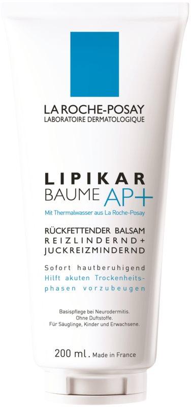 La Roche-Posay Lipikar Baume AP+ ліпідовідновлюючий бальзам проти подразнення та свербіння шкіри