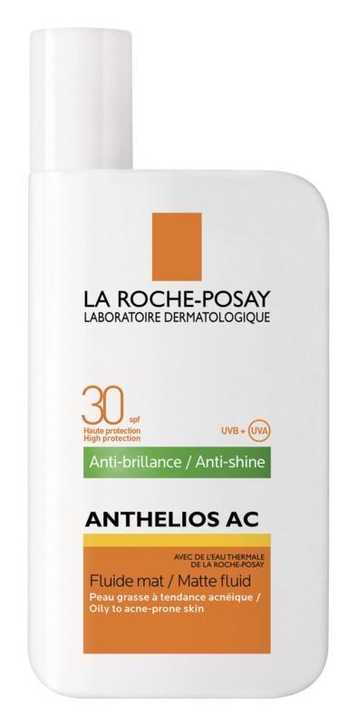 La Roche-Posay Anthelios AC захисний матуючий флюїд для шкіри SPF 30
