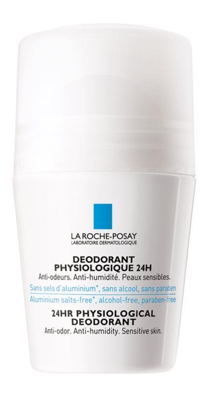 La Roche-Posay Physiologique desodorante fisiológico roll-on para pieles sensibles