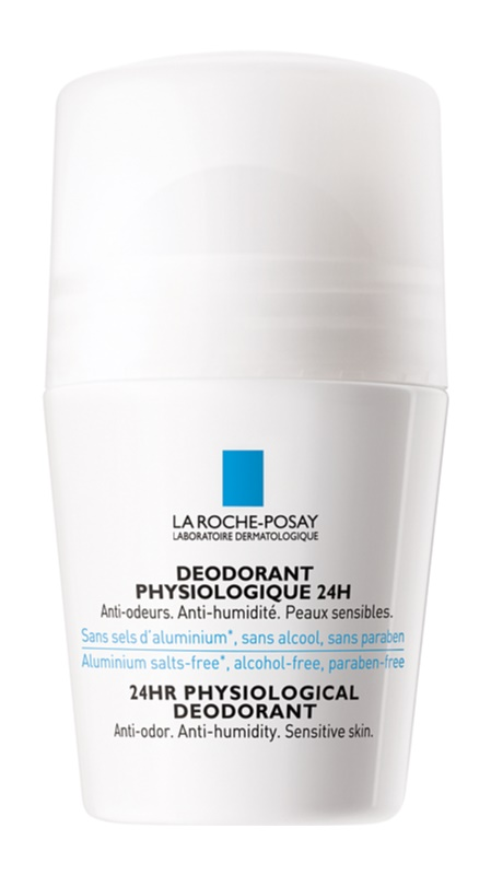 La Roche-Posay Physiologique Physiological Deodorant Roll - On For Sensitive Skin