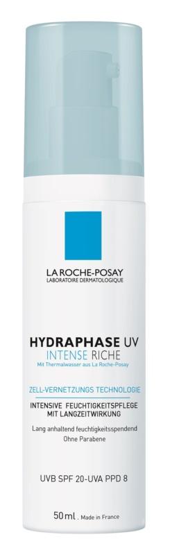 La Roche-Posay Hydraphase intenzívny hydratačný krém pre suchú pleť SPF 20