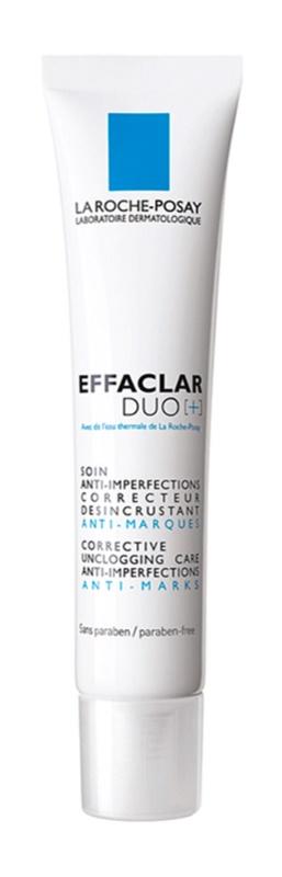 La Roche-Posay Effaclar DUO (+) kijavítása és megújítása az aknés bőr apró hibáit