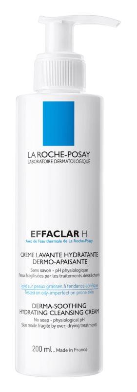 La Roche-Posay Effaclar H hydratačný čistiaci krém pre problematickú pleť, akné