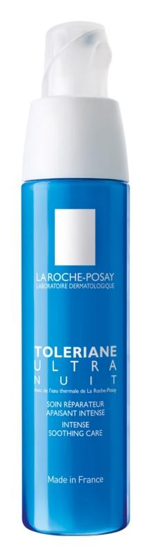 La Roche-Posay Toleriane Ultra intensive beruhigende Nachtpflege für Gesicht und Augen