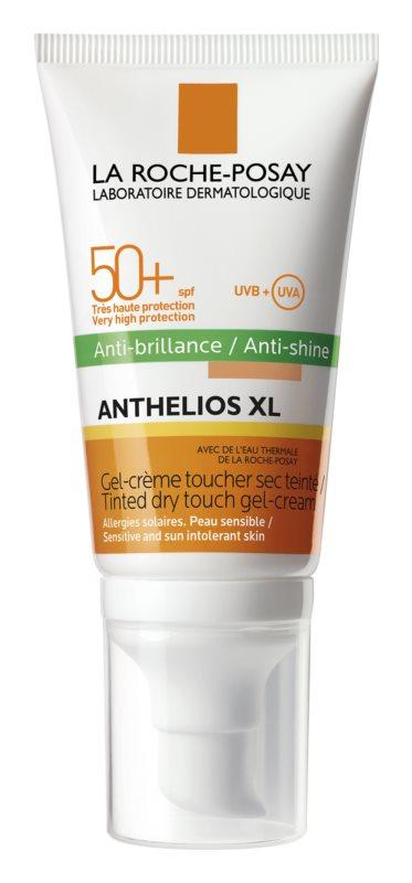 La Roche-Posay Anthelios XL zmatňujúci zafarbený gél-krém SPF 50+